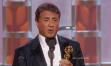 Sylvester Stallone Gets a Golden Globe for His 'Creed' Performance, Gives Moving Speech (Video)