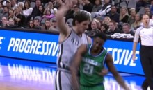 Boban Marjanovic Slams Down a Putback, Then Gives a Crazy Staredown (Video)
