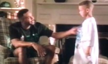 Steph Curry Made Some Hilarious Burger King Commercials with His Dad When He Was a Kid (Videos)