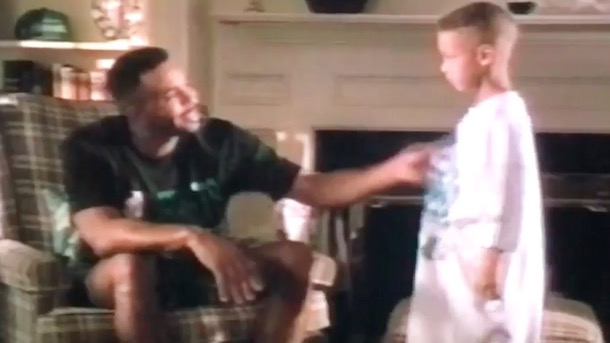 steph curry burger king commercials with dad