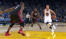 Steph Curry Double Behind-the-Back Pass Had Heat Announcers Comparing Him to Pete Maravich (Video)