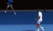 Line Judge Takes 121 MPH Serve to the Groin at Aussie Open (Video)