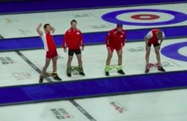 the norwegian curling team
