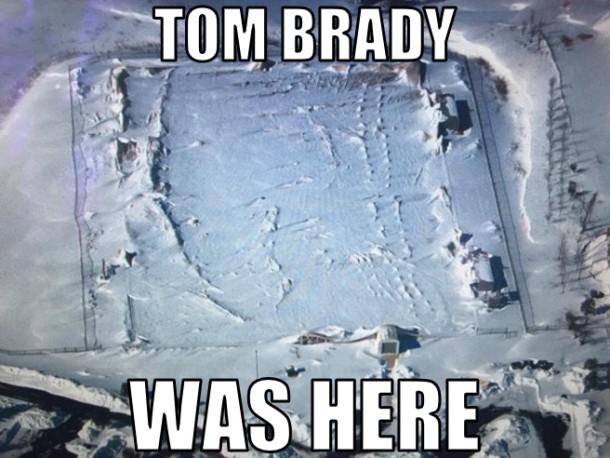 tom brady was here