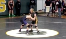 Undefeated High School Wrestler Lets Opponent with Down Syndrome Win (Video)
