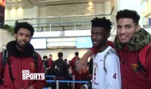 "USC Players ""Joke"" That They're Worried Rams Players Will Steal Their Chicks (Video)"