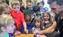 Vikings Kicker Blair Walsh Visited The First-Graders Who Wrote Him Those Adorable Letters (Video + Pics)