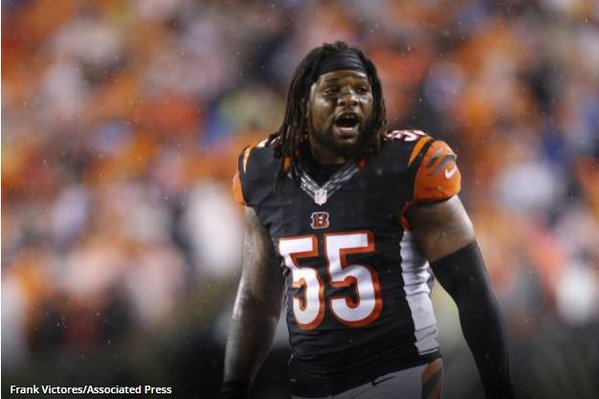 Total Pro Sports Vontaze Burfict Suspended First 3 Games