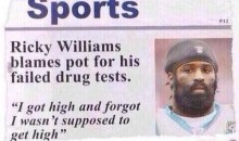 Former NFL RB Ricky Williams believes Weed Use Can Help Players Deal With Pain (Video)
