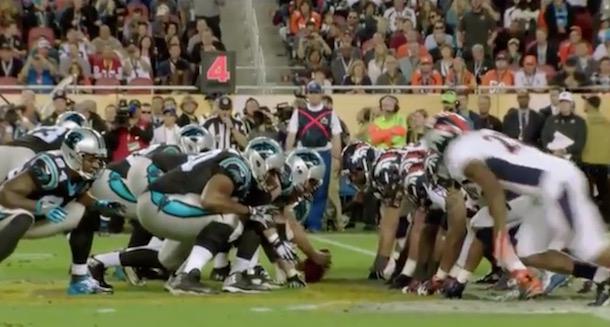 Broncos offside - Super Bowl 50