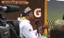 Cam Newton Busts Out Some Freestyle Rap at Super Bowl Media Night (Video)
