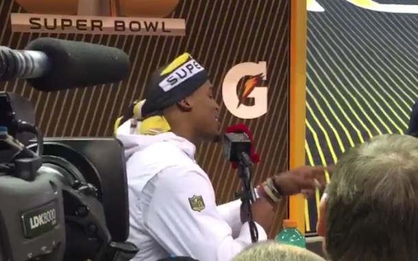 Cam Newton Freestyle Rap