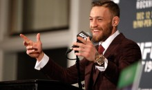 Conor McGregor Moving Up Two Weight Classes (and 25 Pounds) to Fight Nate Diaz at UFC 196