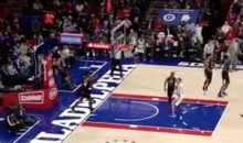 DeAndre Jordan Surprises Us With This Sick Full-Court Pass (Video)