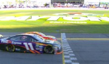Denny Hamlin Wins Closest Daytona 500 Ever (Video)
