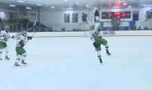 High School Hockey Player Scores OT Winner on Same Day His Father Died (Video)