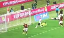 Roma's Edin Dzeko With One of the Worst Misses Ever (Video)