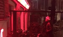 Floyd Mayweather Spent Valentine's Day at Amsterdam's Red Light District (Pic)