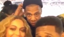 Jay-Z Didn't Know about Snapchat Until Usher Showed It to Him at the Super Bowl (Video)