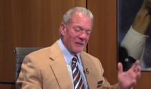 Colts Owner Jim Irsay Wants Peyton Manning to Retire in Indy (Video)