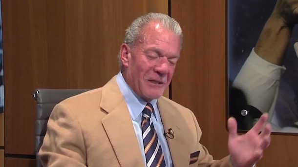 Jim Irsay wants Manning Retire Colts