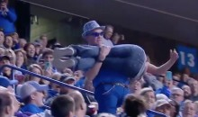 This Kentucky Fan's Railing Slide Was an Epic Fail (Videos)