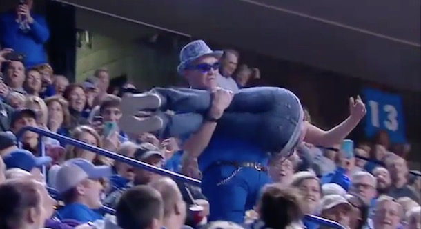 Kentucky Fan Railing Slide Fail