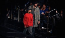Lamar Odom Makes Public Appearance at Kanye West's Fashion Show (Pics + Vids)