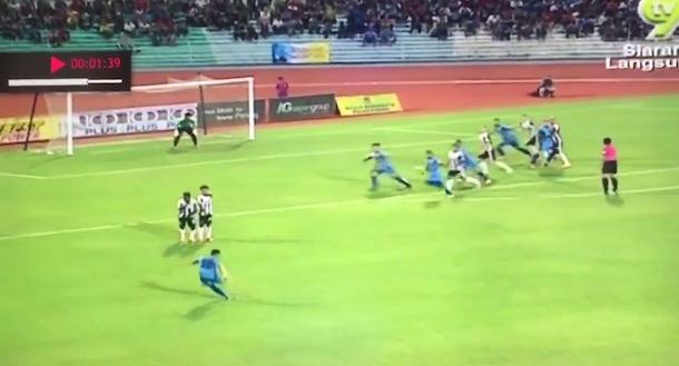 Mohd Faiz Subri Free Kick