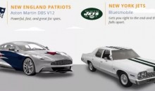 Here Are All 32 NFL Teams As Cars (Pics)