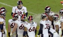 "Broncos Players Chanted ""Peyton F*cking Manning"" in Huddle Before Super Bowl-Clinching TD (Video)"