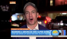 Peyton Manning Talks About Potential Retirement on TODAY Show (Video)