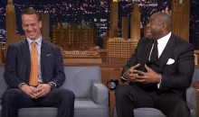 Magic Johnson Tried to Convince Peyton Manning to Join the Rams on Fallon Last Night (Video)