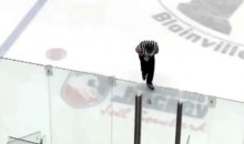 QMJHL Referee Takes Beer Can to the Groin (Video)