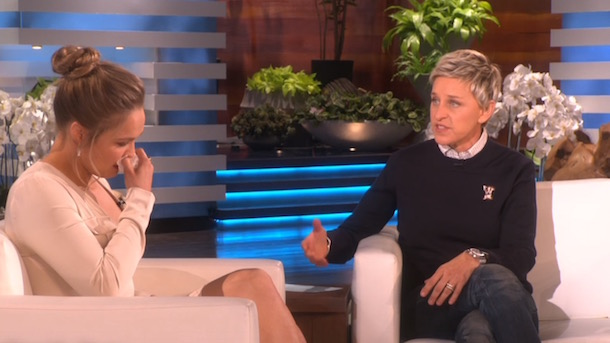 Ronda Rousey on Ellen
