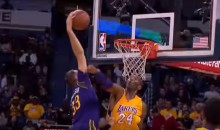 Kobe Bryant Gets Posterized, Responds With a Dagger (Videos)