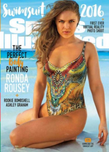 SI Swimsuit Cover - Ronda Rousey