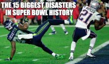 The 15 Biggest Disasters In Super Bowl History (Video)