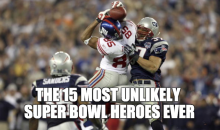 The 15 Most Unlikely Super Bowl Heroes Ever (Video)