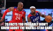 20 Facts You Probably Didn't Know About the NBA All-Star Game (Video)