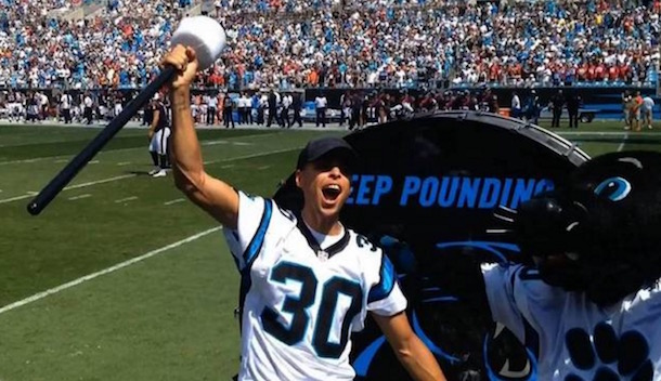 Steph Curry Keep Pounding