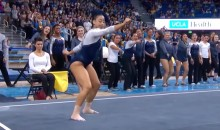 UCLA Gymnast Dabs, Whips, Nae Naes During Awesome Floor Routine (Video)
