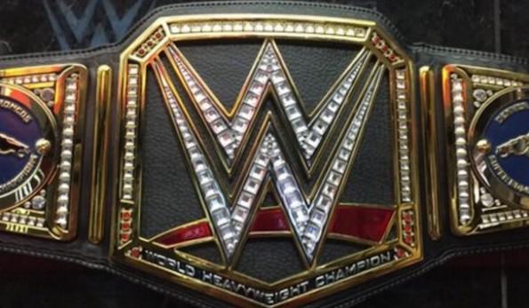 WWE Championship Belt Broncos