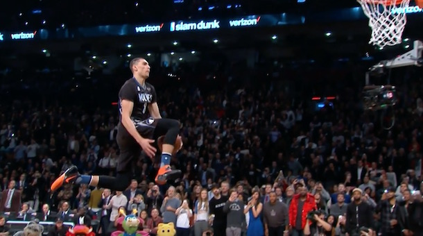 Zach LaVine Dunk Contest