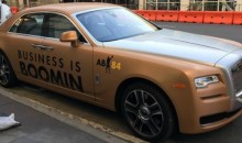 Check Out Antonio Brown's 'Business is Boomin' Rolls-Royce Phantom (Pic)