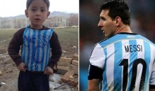 Lionel Messi Tracks Down Young Afghan Boy Who Wore His Jersey Made from a Plastic Bag