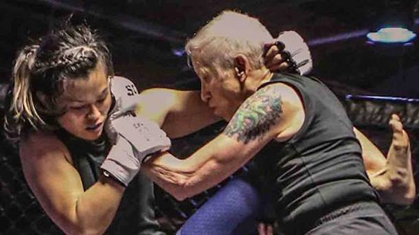 badass 68-year-old mma grandma takes beatdown from 24-year-old opponent