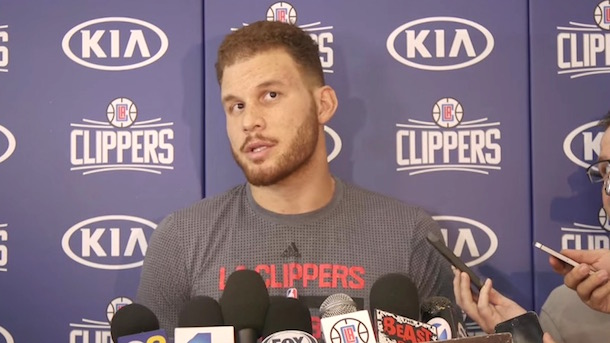 blake griffin speaks to media apologizes for punching equipment manager blake griffin apology