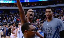 "Chris Bosh to Dallas Mavericks Fan: ""Shut Yo Ass Up, Take Yo Ass Home!"" (Video)"