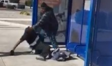 Homeless Man Who Beat Up D-Bag Attacker Is Allegedly Former NFL Player Chris Brymer (Video)